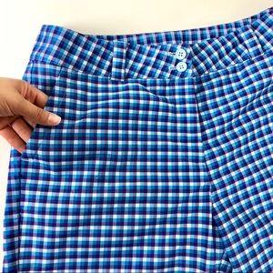 Nike Women's Golf Bermuda Shorts Blue Size 12